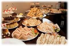 Tasty Snacks Served At Birthday Event