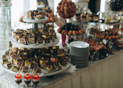 Our Delicious Sweet Dishes For Buffet At A Wedding