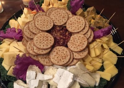 Tasty Snacks At A Corporate Event