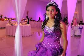 Girl In A Beautiful Gown At Quinceañera Event – 1