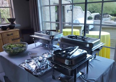 Our Catering Services At A Private Event – 2