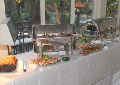 Buffet Food At A Corporate Event – 2