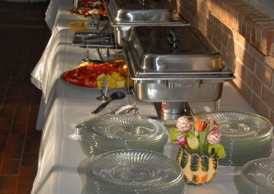 Our Delicious Buffet Food At A Corporate Event