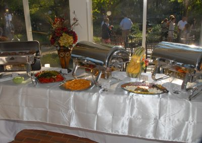 Buffet Food At A Corporate Event – 1